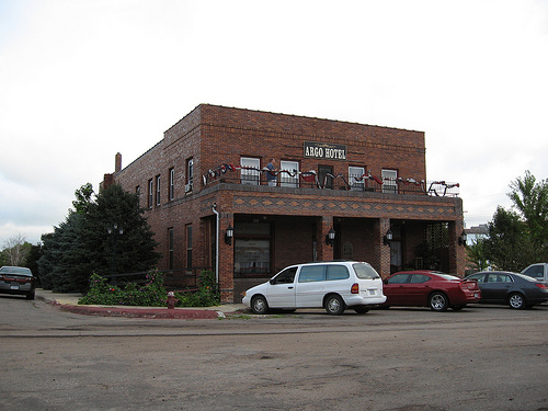 The Argo Hotel in Crofton, Nebraska