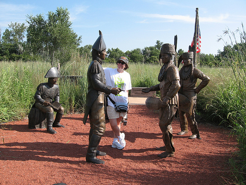 Mary joins in the negotiations at Fort Atkinson
