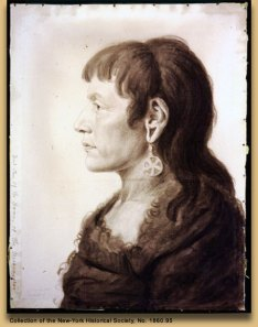 Portrait of Sheheke by Charles Saint-Mémin