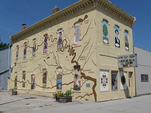 The breaktaking mural in Tekamah, Nebraska