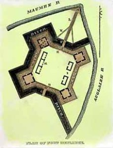 Plan of Fort Defiance, 1794
