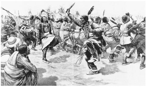 The Ghost Dance. About two weeks after Sitting Bull's death, about 200 ghost dancers were massacred at Wounded Knee, South Dakota, marking the end of Indian resistance after four centuries.