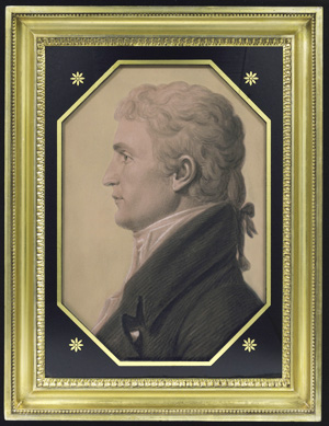 Meriwether Lewis, by Charles Saint-Memin