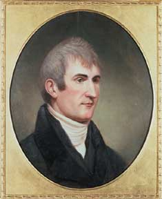 Meriwether Lewis by Charles Willson Peale