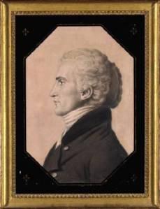 Portrait of Meriwether Lewis by Charles St. Memin