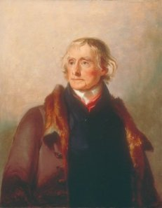 Thomas Jefferson by Sully, 1821