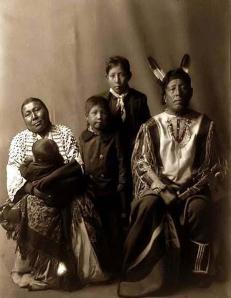 Hidatsa-Indian-Family