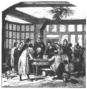 Christmas merrymaking in early America
