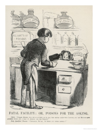 19th century laudanum cartoon