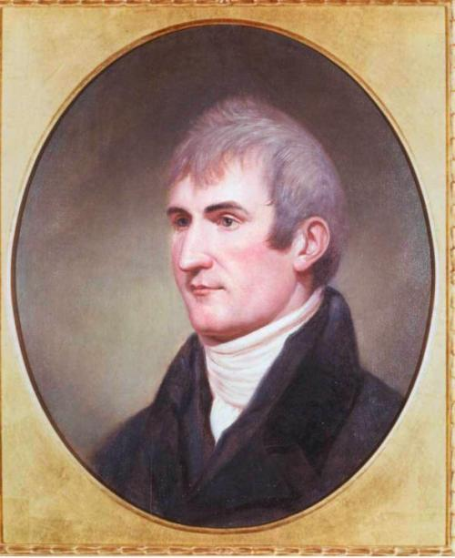 Meriwether Lewis by Charles Willson Peale (1807)