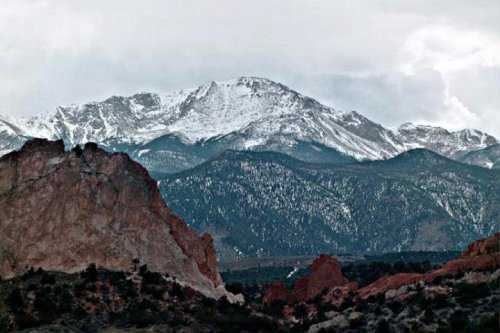 Pike's Peak in Colorado