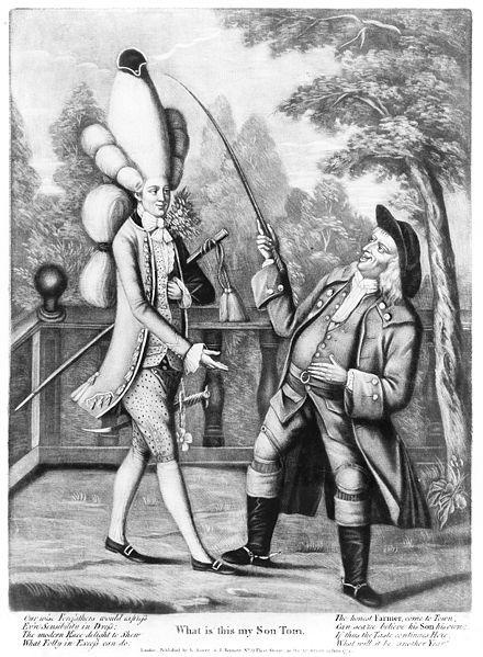 A young macaroni, 1774