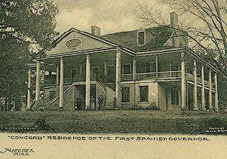 Concord mansion, Natchez