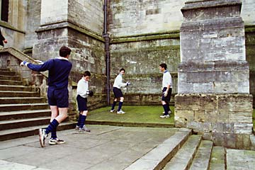 The original Eton Fives court