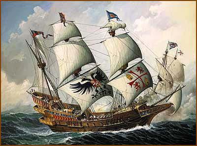 Aboard a Spanish ship
