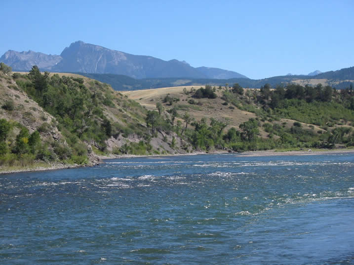 The Yellowstone River near