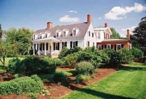 "1764 home ""Castle Hill,"" bullt by Thomas Walker"