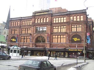 Hudson's Bay Company Building, Montreal, Canada