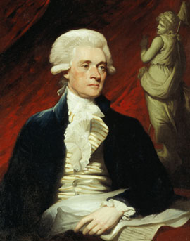 Thomas Jefferson by Mather Brown (1786)
