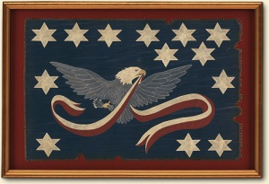 A flag of the Whiskey Rebellion