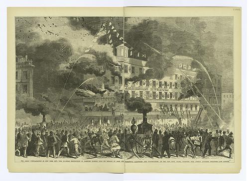 P.T. Barnum's American Museum fire, 1865