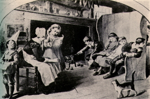 Early American schoolroom