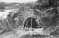 Indian sweat lodge