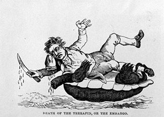 1807 Embargo cartoon