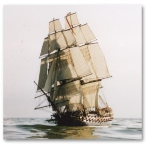 The HMS Leopard, 1807