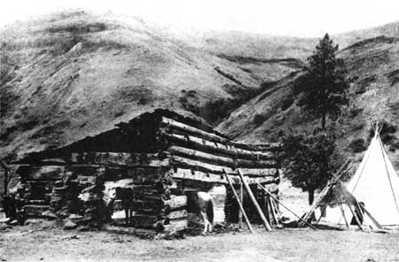 Ruins of the Spalding Mission at Lapwai, Idaho