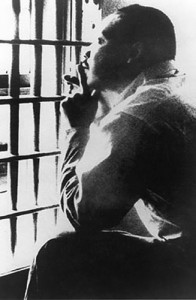 Martin Luther King in Birmingham Jail