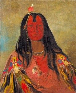 No Horns on His Head, by George Catlin