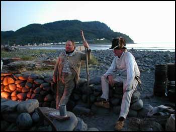 Lewis and Clark salt makers