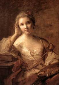 Portrait of a Young Woman, by Jean-Marc Nattier