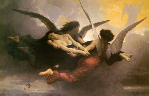A Soul Brought to Heaven by WIlliam-Adolphe Bouguereau, 19th century