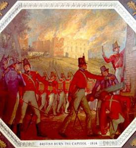 The Burning of Washington, 1814