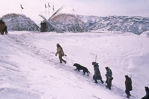 Winter at the Mandan villages, 1804-1805