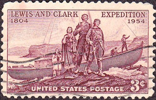 1954 Lewis and Clark Commemorative Stamp
