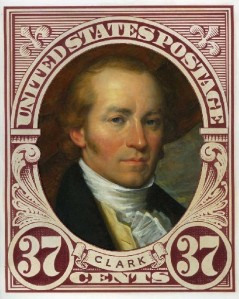 William Clark stamp by Michael Deas, 2004