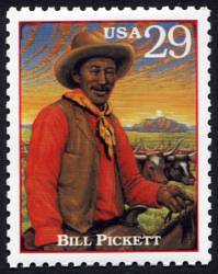 "The ""Right"" Bill Pickett Stamp"