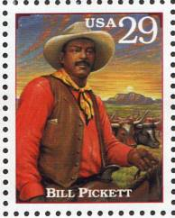 "The ""Wrong"" Bill Pickett Stamp"