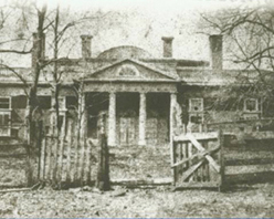 Monticello in ruins, late 19th century