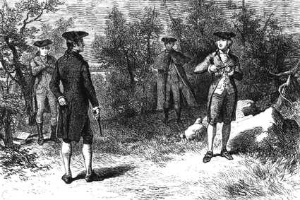 Dueling in the 18th century