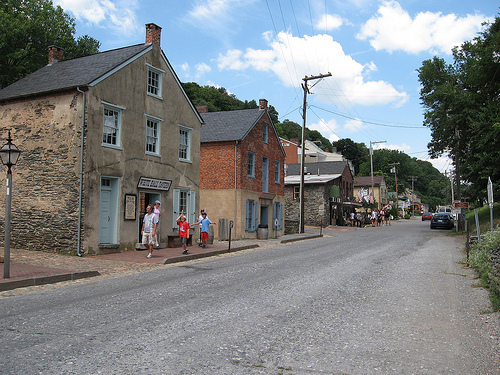 Lewis  Clark road trip Harpers Ferry  Frances Hunters American