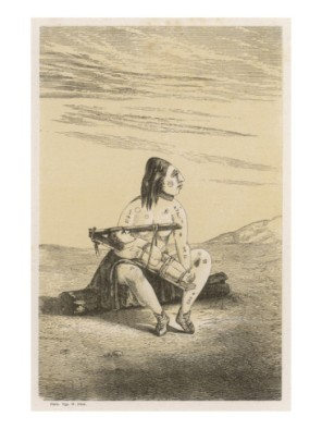 Chinook woman and child