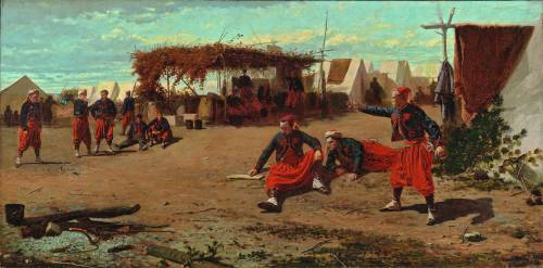 Pitching Quoits by Winslow Homer (1865)