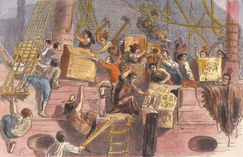Boston Tea Party, 1773