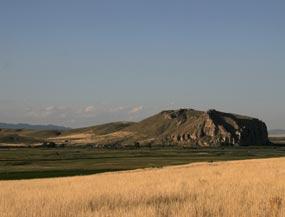 Beaverhead Rock