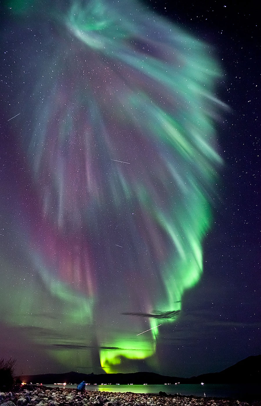 Northern Lights Caused Solar Flares