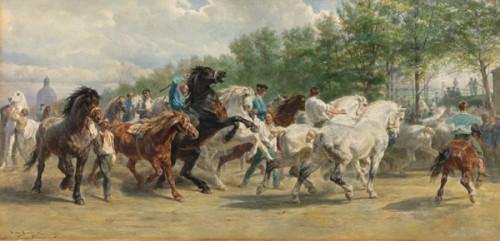 The Horse Fair by Rosa Bonheur, 1867